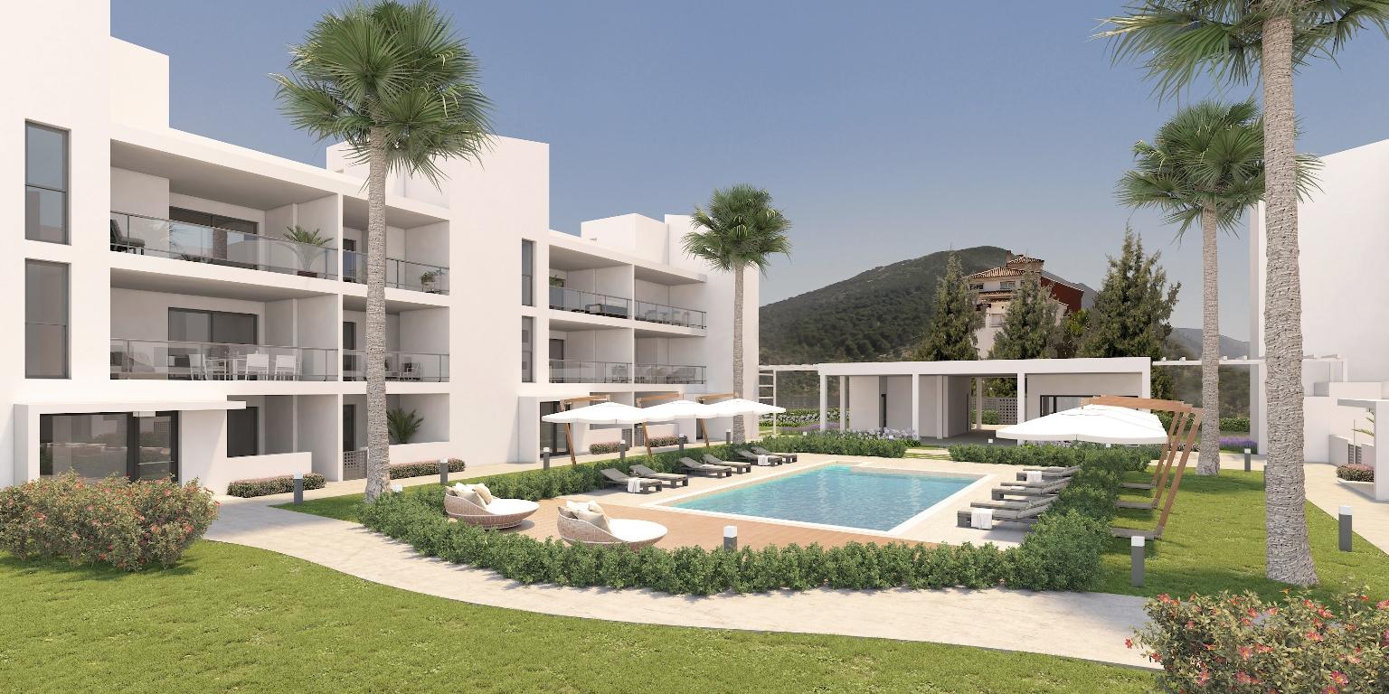 Alhaurin Vista Gol - nieuwbouw appartementen - Costa del Sol - impressie